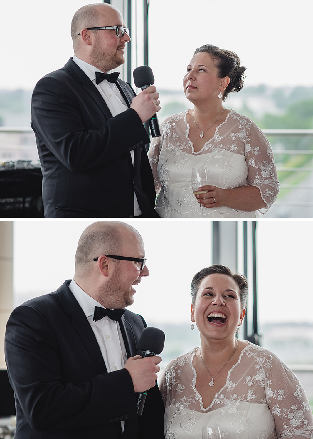 Hochzeit, Hochzeitsfotografie, Astrid Ebert Fotografie, Hochzeitfotograf Aachen, Kohlibri Aachen, Brautpaar, Begrüßung der Gäste, gemeinsames Anstoßen