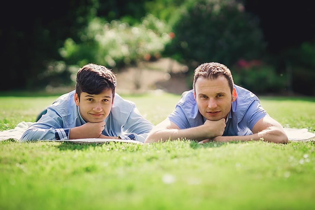 Vater-und-Sohn, Familienshooting, Spaß, Entspannung, Übach-Palenberg, Astrid Ebert Fotografie