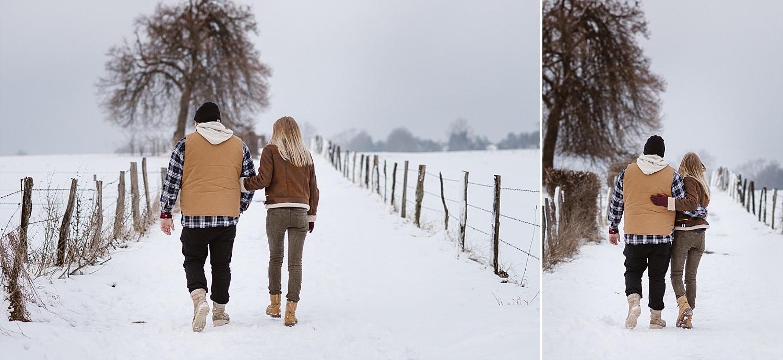 Winter Paarshooting in Aachen