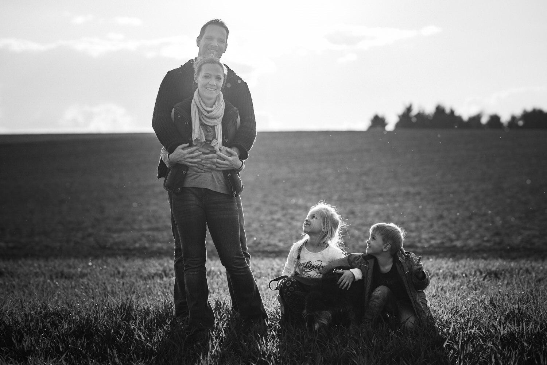 natürliche und lebendige Familienbilder