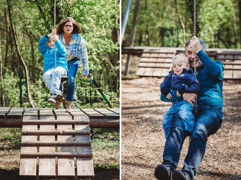 lebendige Familienfotos