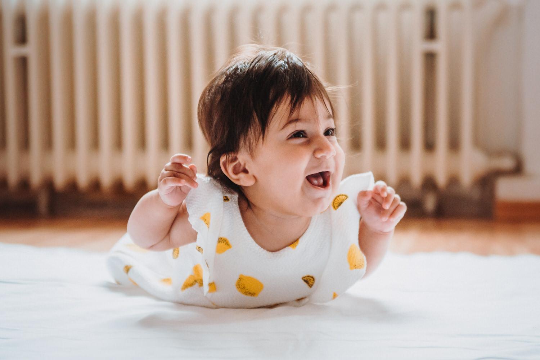 Babyshooting mit 5 Monaten