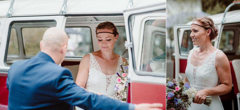Ankunft der Braut
