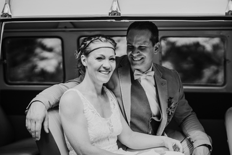 Hochzeitsbilder im VW Bulli