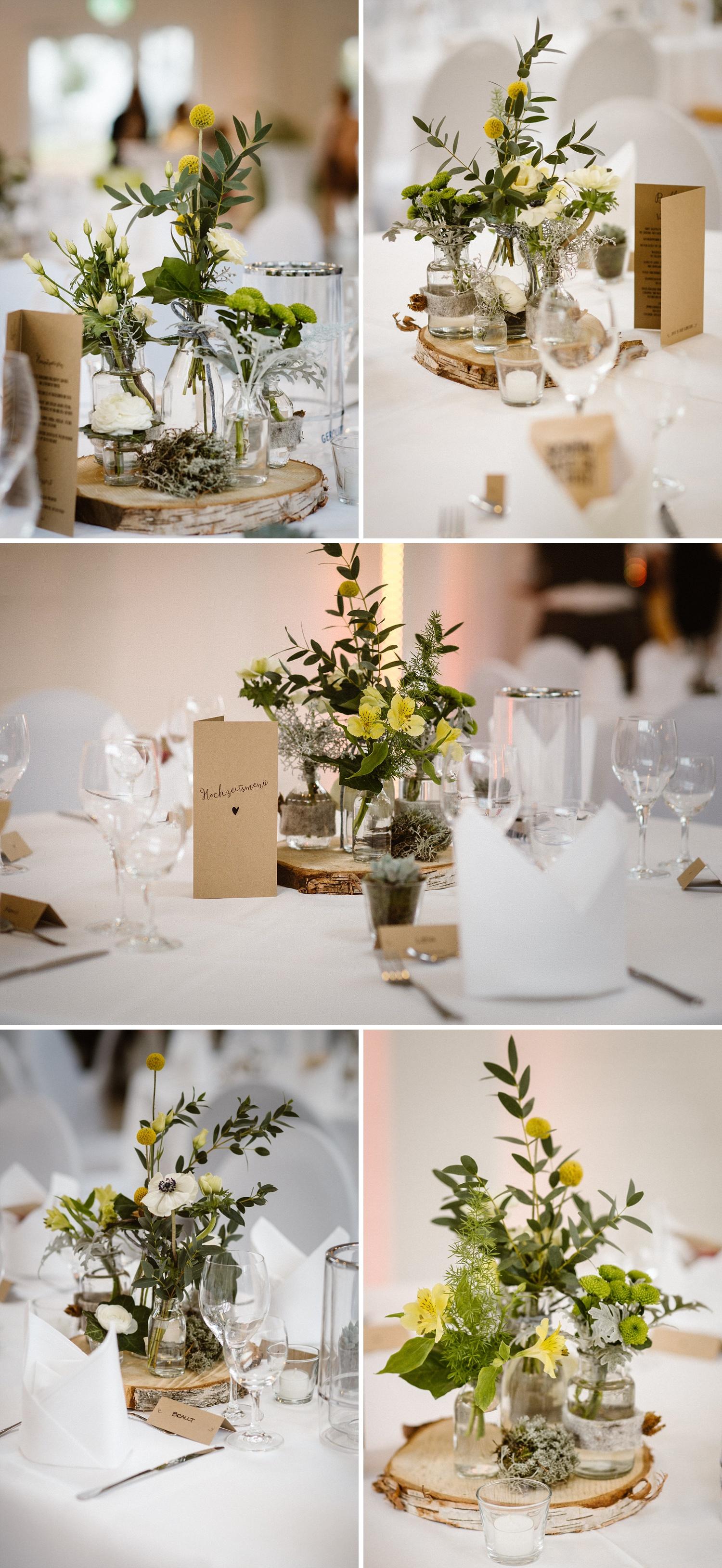 Tischdekoration Hochzeit Detailliebe
