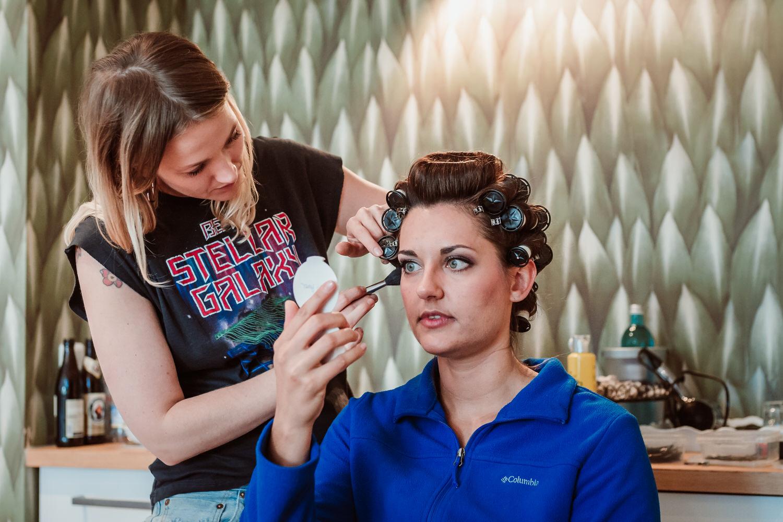 Getting Ready Braut | Hochzeitsfotografie Aachen