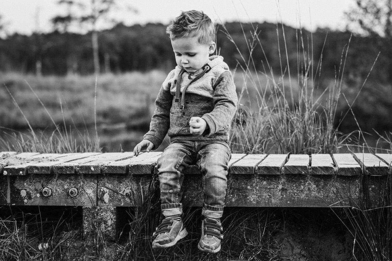 Schwarz Weiß Kinderfotografie | Familienfotografie Aachen