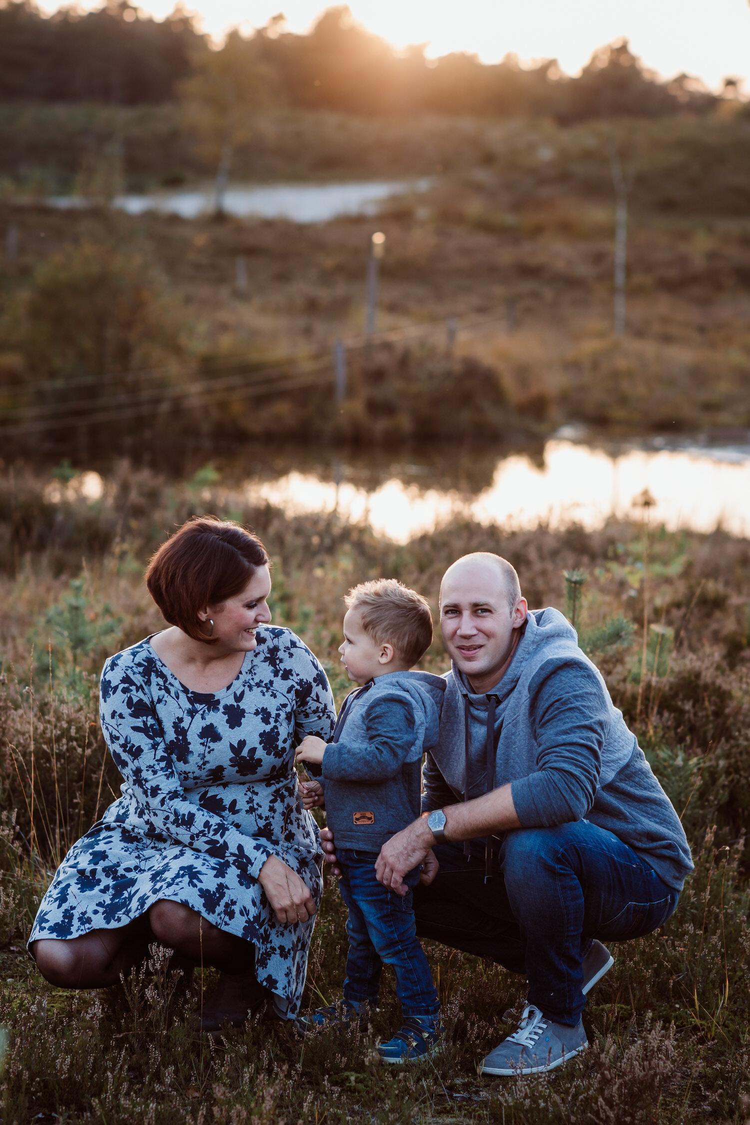 Familienfotografie im Abendlicht | Familienfotografie Aachen
