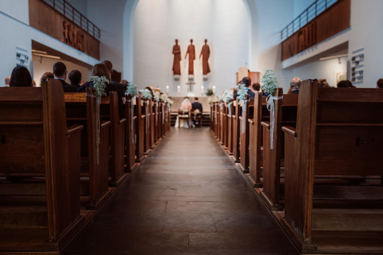 kirchliche Hochzeit Brühl | Hochzeitsfotografie Aachen