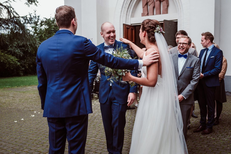 kirchliche Hochzeit Brühl | Gratulationen | Hochzeitsfotografie Aachen