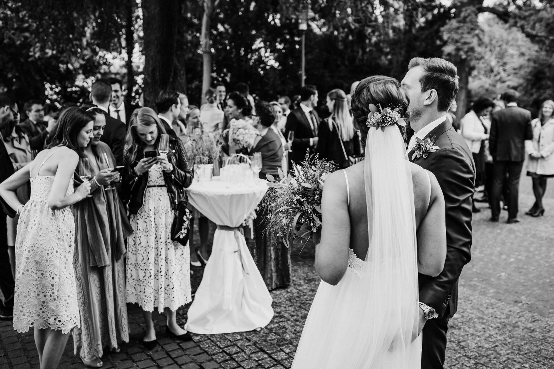 Sektempfang Hochzeit | Hochzeitsfotografie Aachen