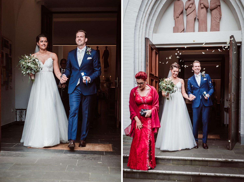 Auszug Kirche | Hochzeitsfotografie Aachen