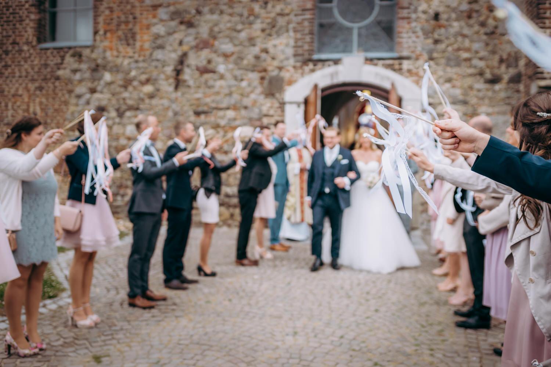Wedding Wands zum Auszug aus der Kirche