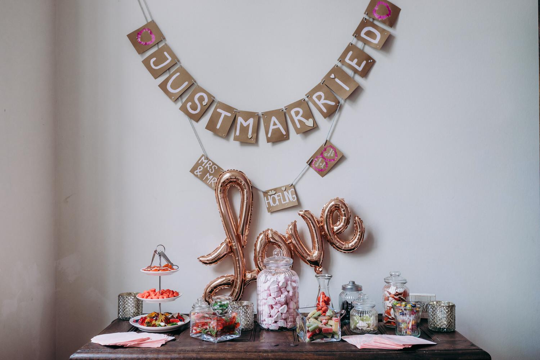 Candybar Hochzeit Haus Hohenbusch