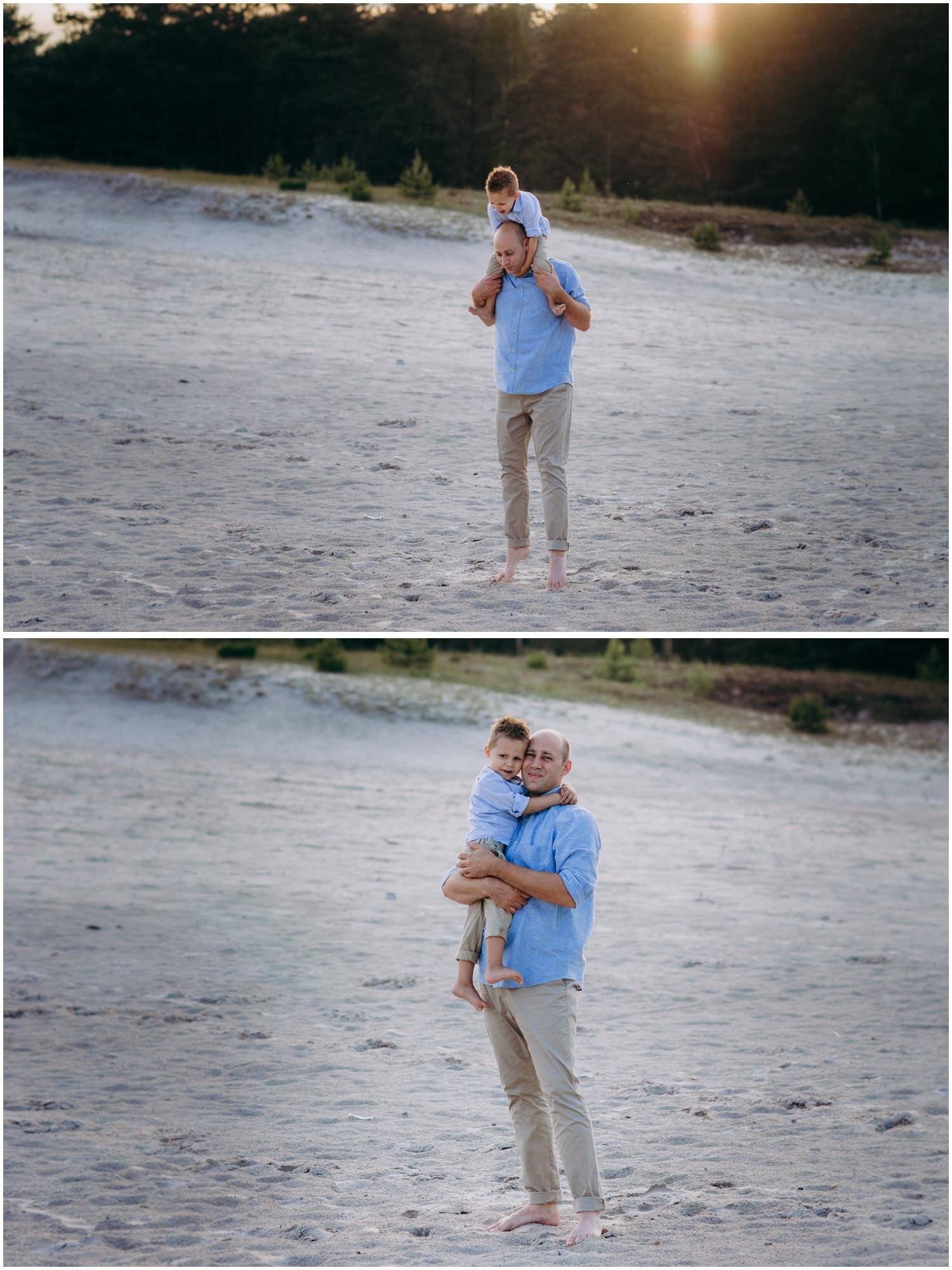 Vater-Sohn Bilder